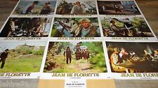 JEAN DE FLORETTE  jeu 18 photos cinema prestige grand format lobby cards pagnol