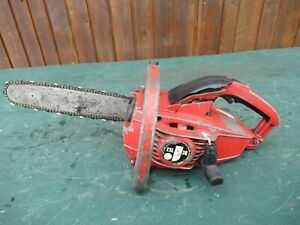 """Vintage JONSERED  Chainsaw Chain Saw with 11"""" Bar"""