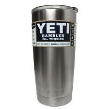 Yeti Rambler 20 Oz Tumbler Vacuum Insulated Cup W Lid Hot Cold Beverage - YRAM20