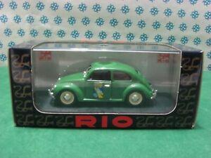 Vintage - Volkswagen Escarabajo Club Italia - 1/43 Rio 88 Serie Especial