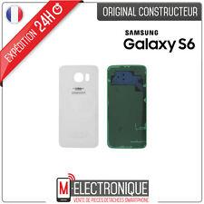 Vitre arrière Blanche Original Samsung Galaxy S6 G920