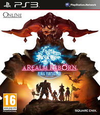 Final Fantasy XIV: A Realm Reborn PS3 Playstation 3 IT IMPORT SQUARE ENIX