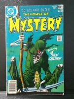 House Of Mystery #261  DC Comics Oct. 1978 GD+ Kaluta cover