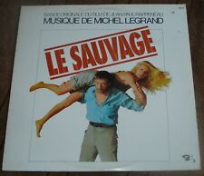 LE SAUVAGE (Michel Legrand) original stereo lp (1976)