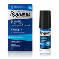 Men's Rogaine Extra Strength 5% Topical Solution for Hair Loss and Hair...