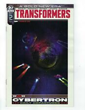 Transformers # 2 Variant 1:10 Cover NM IDW