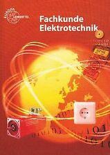 Fachkunde Elektrotechnik von Tkotz, Klaus, Burgmaier, Mo... | Buch | Zustand gut