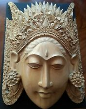 Balinese wood carved Mask
