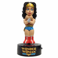"Classic Wonder Woman 6"" Body Knocker NECA Solar Powered Batman Dc Comics"