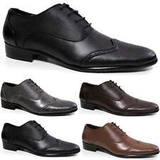 Para Hombre Zapato Bajo De Cuero Zapatos De Boda Formal Casual Oficina trabajo inteligente cena Traje Zapatos Talla