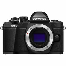 "Olympus OM-D E-M10 Mark II EM10II Body 16.1mp 3"" Digital Camera New Agsbeagle"