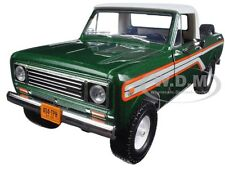 1979 INTERNATIONAL SCOUT TERRA PICKUP EMERALD GREEN 1/25 BY FIRST GEAR 40-0391