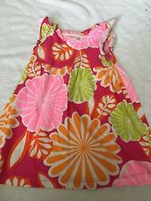 Carter's girls 2T dress multi-colored floral 24 months