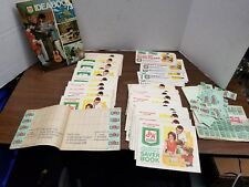 LOT 12000+ points S&H Green Stamps w/books + loose stampsand extra books