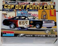 "Monogram's ""Cop Out"" Funny Car Dodge Duster NIB Great Holiday gift 1/24 scale"