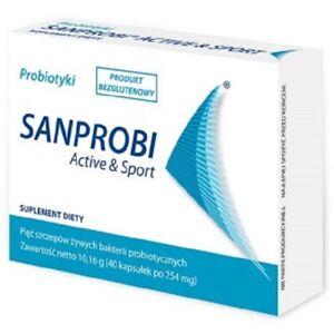 SANPROBI ACTIVE & SPORT 40 capsules