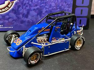 Action #58 GTE A-1 Autoparts Sarah McCune 2000 Midget Sprint Car 1/24 Diecast