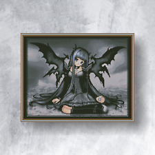 GOTHIC FAIRY - Counted cross stitch kit (with DMC threads)