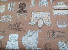 Connecting Threads Chair Cushions Furniture Sofa SetteeTan SALE 1/2 Metre