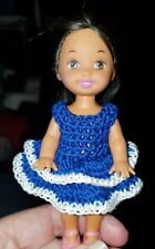 Hand crocheted Mattel Kelly Doll Clothes