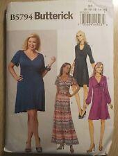 Butterick Dress Pattern #B5794, Misses'  Dresses  ~ Sizes 8-16
