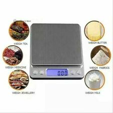 3KG x 0.1g Digital LCD Electronic Kitchen Cooking Food Weighing Scales Accessory