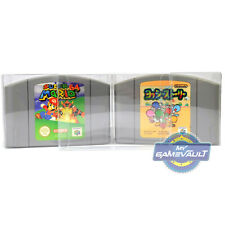 3 x Cart Protector Box for N64 Game Cartridge STRONG 0.4mm Plastic Display Case