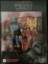 star wars black series heavy infantry mandalorian
