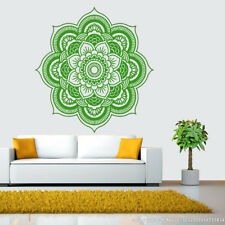 Mandala Flower Indian Bedroom Wall Decal Art Stickers Mural Home Vinyl Family A