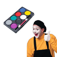 8 Colors Body & Face Paint Kit Art Makeup Painting Pigment Fancy Dress Up Party