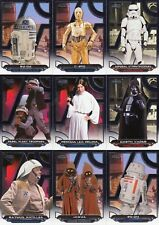 STAR WARS GALACTIC FILES REBORN 2017 TOPPS COMPLETE BASE CARD SET OF 200