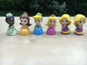Disney Princess mini doll figures bundle x 6 Tomy Disney Princess
