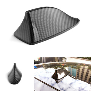 Universal Carbon Fiber Air Vortex Generator Shark Fin Decorative Fake Antenna