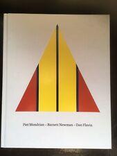 Piet Mondrian - Barnett Newman - Dan Flavin, Gregor Stemmrich German Version