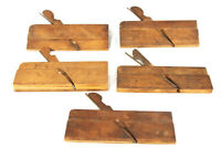 Antique Wood Plane Lot Sidebead Molding Planes Carving Tools 1850s Edward Carter