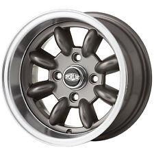 7x 13 Superlight Wheels Classic Ford Gun-metal - 1 Wheel Only
