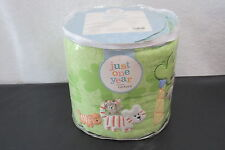 New Just One Year Carter's Reversible Bumper Zoo / Jungle Animals