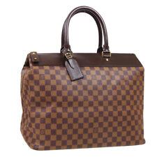 LOUIS VUITTON GREENWICH PM TRAVEL HAND BAG AR0998 DAMIER EBENE N41165 S09922