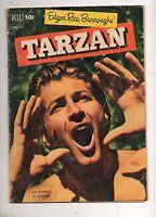 Tarzan #29 (Feb 1952, Dell) Lex Barker Jungle Yell Cover! VG 4.0