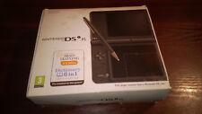Nintendo DS-DSi XL Negro y 5 Juegos #BG4B74 En Caja Nuevo Super Mario Bros