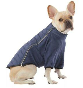 Top Paw Dog Lightweight Packable Coat Blue XS-XXL Reflective Incl. Travel Bag