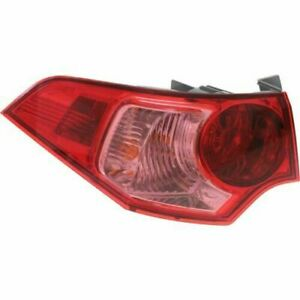 FITS FOR ACURA TSX 2011 2012 2013 2014 REAR TAIL LIGHT OUTER LEFT DRIVER SIDE