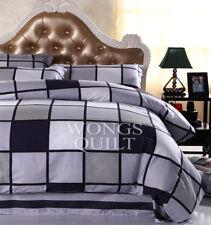 Cotton Quilt Cover Queen Size Duvet/Quilt/Doona Covers Set Bed Linen Pillowcases