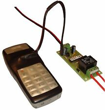 GSM DEACTIVATE HOME ALARM SYSTEM  permit access CONTROLLER SWITCH REMOTE RELAY
