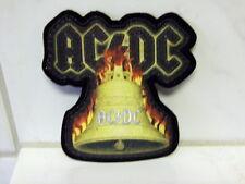 Aufnäher Aufbügler Patch  AC-DC Glocke - 8 x 9 cm