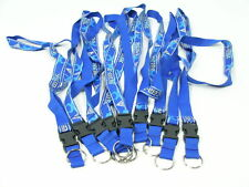 (10 Pack) Lanyard Neck Strap, Keychain, Paintball Blue
