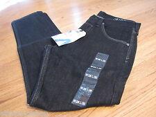 Men's Bullhead jeans fairfax slim tapered black dark button fly 28 x 30 090233