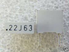 10 condensateurs MKT 0,22uF 220nF 63V 5%