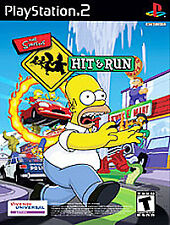 Playstation 2 PS2 Simpsons: Hit & Run *COMPLETE*Black Label*