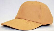Timberland Wheat 100% Genuine Leather Baseball Cap
